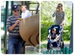 tom brady, benjamin brady Giselle Bundchen Boston Park