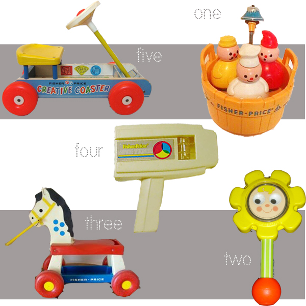 Fisher Price Toys : Vintage fisher price our top