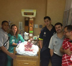 Dad Delivers Baby Girl on I-95
