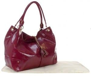 Amy Michelle Magnolia Diaper Bag - red
