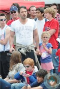 Ben Affleck, Violet Affleck fourth of July