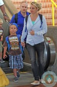 Britney Spears, Sean P Federline, Maui airport