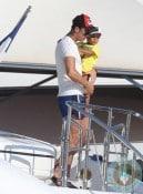 Cristiano Ronaldo vacation, Cristiano Ronaldo Jr, St tropez