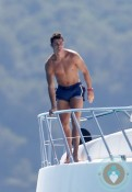 Cristiano Ronaldo vacations in St.Tropez