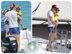 Cristiano Ronaldo vacations in St.Tropez with his son Cristiano Ronaldo Jr
