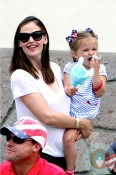 Jennifer Garner, SEraphina Affleck 4th of July Parade