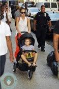 Jessica Alba & daughter Honor Warren in NYC