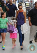 Katie and Suri Cruise Playdate Alice's Tea Cup