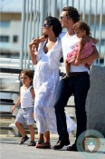 Matthew McConaughey, Levi Mcconaughey, Vida McConaughey & Camila Alves NYC copy
