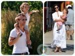 Matthew McConaughey, Levi Mcconaughey, Vida McConaughey, Camila Alves NYC copy