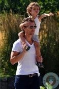 Matthew McConaughey, Levi Mcconaughey in NYC copy
