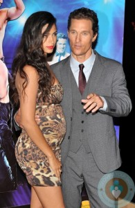 Matthew McConaughey and Camila Alves @ the Magic Mike Premiere London
