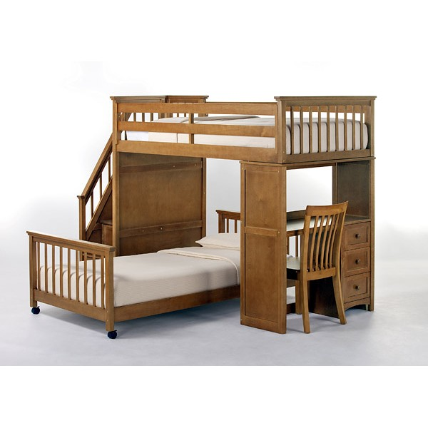 kids bed side view. Fine Side NE Kids Schoolhouse Stair Loft Pecan Side View With Kids Bed Side View I