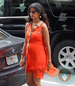 Pregnant Camila Alves out in NYC