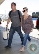 Pregnant Reese Witherspoon, Jim Toth @ LAX