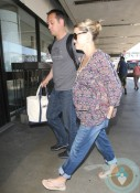 Pregnant Reese Witherspoon, Jim Toth LAX