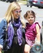 Pregnant Sarah Michelle Gellar, Charlotte Prinze LA