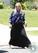 Pregnant Sarah Michelle Gellar LA