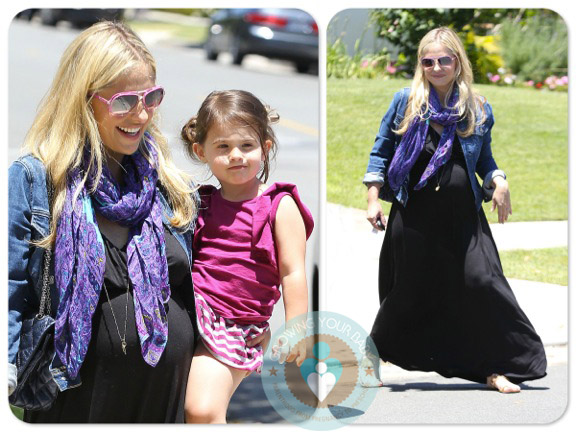 Pregnant Sarah Michelle gellar with daughter charlotte prinze We are proud to offer the catering services of Cuisine Unlimited!