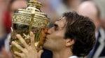 Roger Federer wins his seventh Wimbledon singles title