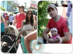 Roselyn Sanchez and husband Eric Winter, daughter Sebella Rose