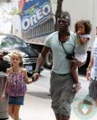 Seal Samuel, Leni Klum, Lou Samuel out in NYC