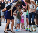 Suri Cruise Playdate @ Alice's Tea Cup NYC