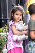 Suri Cruise Playdate at Alice's Tea Cup NYC