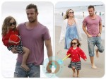 cam gigandet, Dominique Geisendorff, daughter Everleigh Ray Gigande