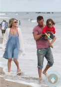 cam gigandet, Dominique Geisendorff, daughter Everleigh Ray Gigandet Malibu