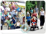 gwen stefani, kingston Rossdale, Zuma Rossdale, central park amusement park