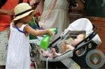 honor warren &haven warren, Central Park NYC orbit stroller