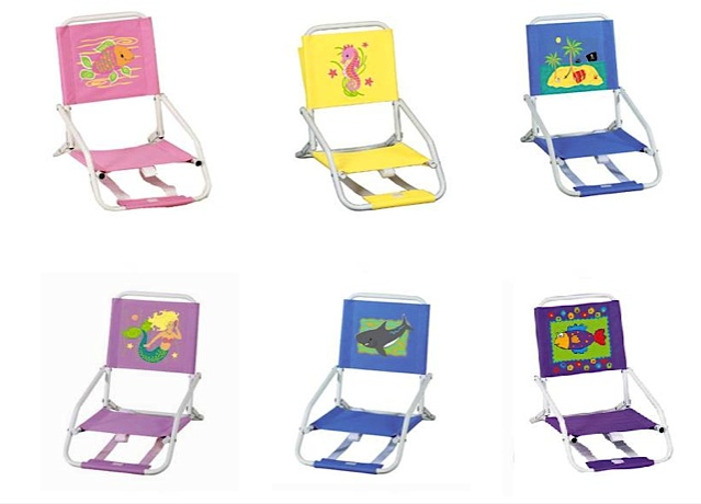 portia beach kids chairs chair day practical double furniture camping folding