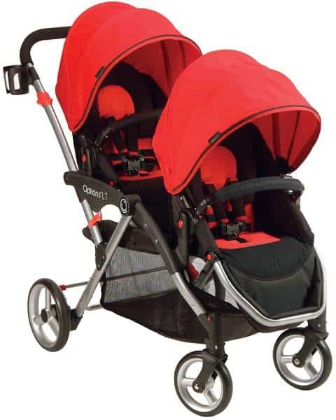 image of recalled kolcraft contours LT tandem stroller