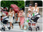 jessica alba, honor warren, haven warren, Central Park NYC