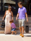 pregnant kourtney kardashian, scott disick, mason disick