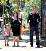 pregnant kourtney kardashian, scott disick, son mason disick