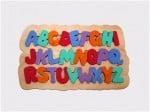 wooden alphabet puzzle