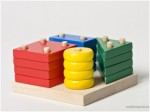wooden stacking sorting toy