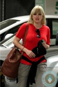 Anna Faris out for lunch in LA