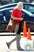 Anna Faris out in LA