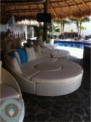 Azul Beach Bubbles swim-up bar