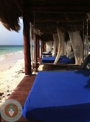Azul Beach - beach cabanas