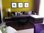 Azul Beach - family suite living room