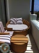 Azul Beach - family suite patio