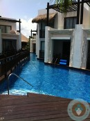 Azul Beach - swim up suite view