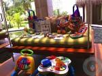 Azul beach - toy lending service