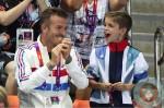 David Beckham, Romeo Beckham London Summer Olympics 2012