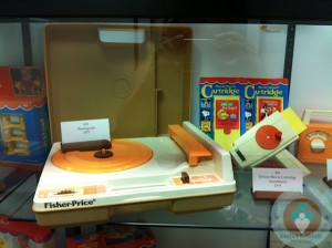 Fisher-Price Vintage Record player