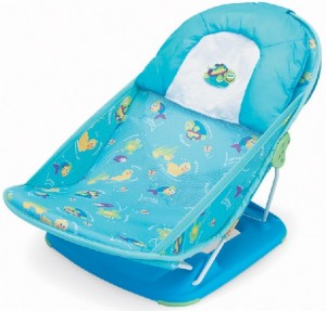 Image of recalled Summer Infant  Baby Bathers - blue